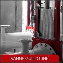 Vanne Guillotine