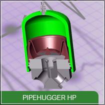 Amortisseur de pulsations : PipeHugger HP